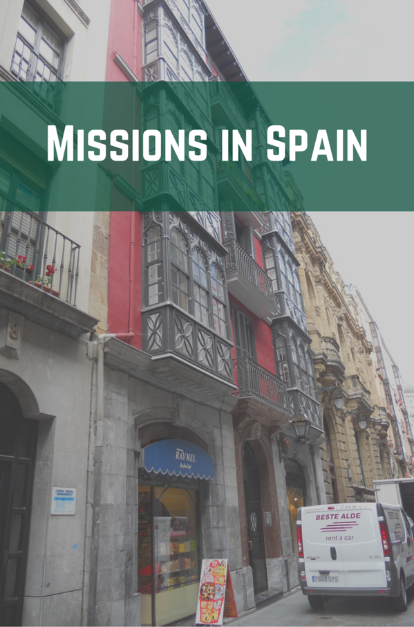 Missions in Spain