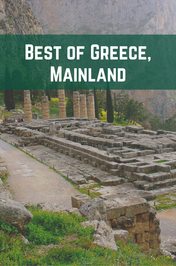 Best of Greece, Mainland