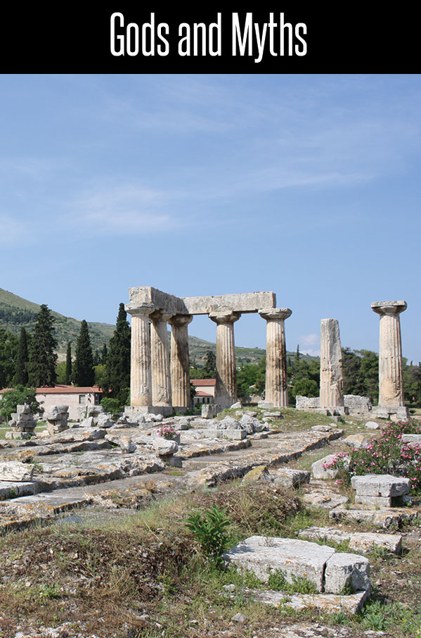 Florence, Rome, Athens, Corinth