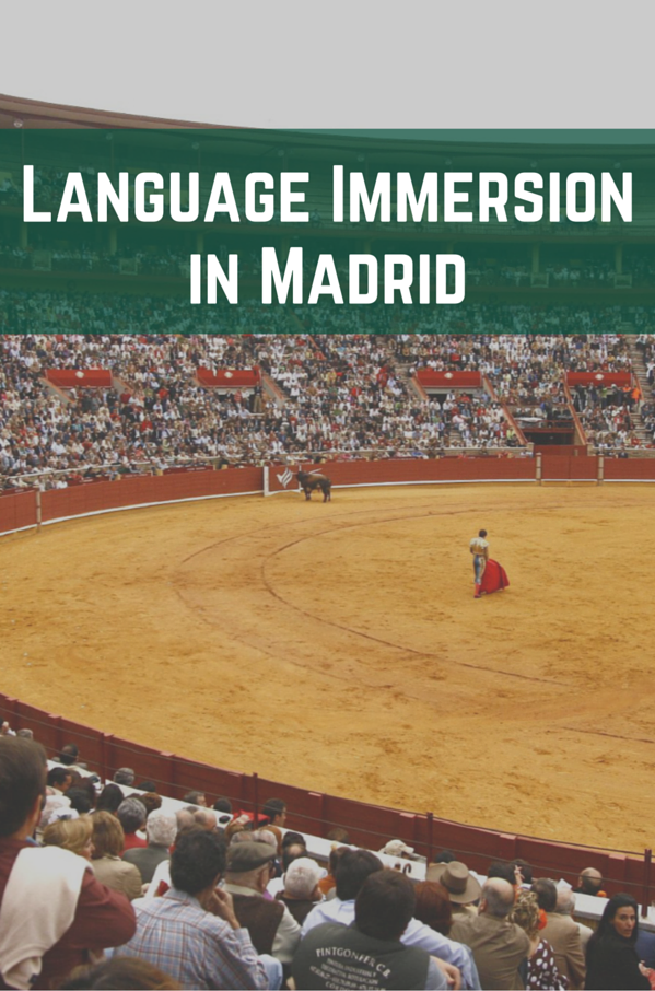 Language Immersion in Madrid