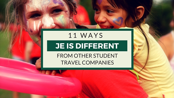 different from other student travel companies_blog