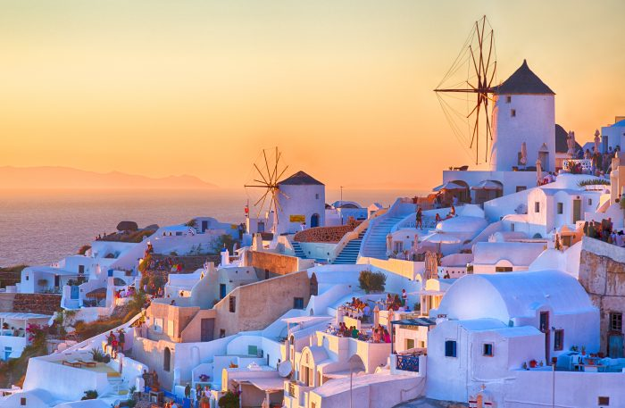 Oia Sunset, Santorini island, Greece